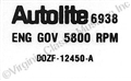 70 428 CJ/71 429 REV LIMITER DECAL