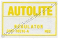68-70 VOLTAGE REGULATOR DECAL WITH AIR