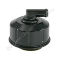BLACK TWIST-ON OIL CAP WITH HOLE AUTOLITE LOGO