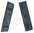 67-70 UPPER RADIATOR MOUNTING BRACKET - PADS ONLY-PAIR