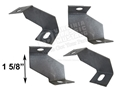 65-66 STANDARD FAN SHROUD BRACKETS-SET OF 4