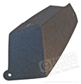 65-66 WIPER ARM SHIELD-LH UNDERDASH -ORIGINAL STYLE FIBER BOARD