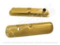 GOLD PAINTED EXACT REPRODUCTION 289 VALVE COVERS-PAIR