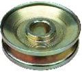 65-70 SINGLE GROOVE ALTERNATOR PULLEY-GOLD FINISH