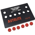 Autolite Group 24 Battery Cover Only - Red Removable Caps - Best Quality