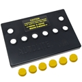 Autolite Group 24 Battery Cover Only - Yellow Removable Caps - Best Quality