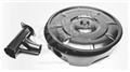65-67 V8 AIR CLEANER ASSEMBLY-3 PIECES LID, BASE AND SNORKEL