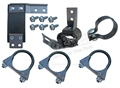 65-66 EXHAUST HANGER KIT FITS V8 WITH SINGLE EXHAUST SYSTEM  2""