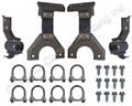 "71-73  2 1/4"" DUAL EXHAUST HANGER KIT"