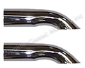 "2 1/4"" CHROME EXHAUST TURNDOWN TIPS-PAIR"