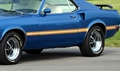 1969 Mustang Mach 1 Stripe kit - Gold with White Center