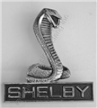 69-70 COILED SNAKE SHELBY EMBLEM FOR GRILL