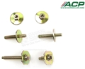 65-68 Mustang Vent Window Frame Bolt Kit