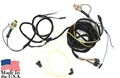 67 FASTBACK TAIL LIGHT WIRING HARNESS- WITHOUT LOW FUEL WARNING WITH NEW BULB SOCKETS