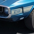 69-70 White Shelby GT500 Stripe Kit
