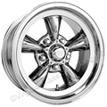 15 X 7 CHROME AMERICAN TORQ-THRUST D WHEEL 5 LUG