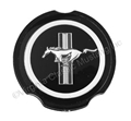 70-73 PLASTIC PONY EMBLEM FOR SIMULATED MAG WHEEL HUBCAP