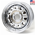 68-69 Style Styled Steel Wheel - 14 x 6 - 4 Lug for 6 Cylinder Models