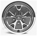"14"" FULL STYLED STEEL HUBCAPS WITH CENTERS- SET OF 4"