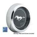 Black Mustang Pony Center for Cast Aluminum Legendary Wheels