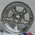 14 x 7 Polished Aluminum American Racing Torq Thrust II Wheel