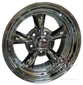 14 X 7 POLISHED AMERICAN TORQ-THRUST II WHEEL 5 LUG WITH NEW DURABLE PVD COATING