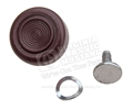 68-70 Window Handle Knob - Maroon (Dark Red)