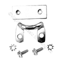 65-66 GLOVE DOOR LATCH CATCH AND STRIKER WITH SCREWS AND BACKING PLATE