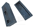 67-68 HEATER CORE FOAM END CAPS SET 0F 2 - USE WITH FACTORY AC