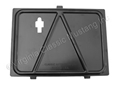 65-66 CONSOLE STORAGE COMPARTMENT PLATE (FITS AT REAR OF FRONT COMPARTMENT)
