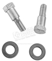 65-73 SHIFT LEVER SHOULDER BOLTS WITH WASHERS SET OF 2 BOLTS/2 WASHERS