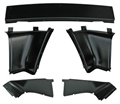 67-68 FASTBACK REAR INTERIOR TRIM PANEL SET- SET OF 5 PIECES