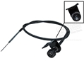 HIGH PERFORMANCE CHOKE CABLE ASSEMBLY
