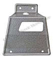 67-68 RH FASTBACK REAR SEAT LATCH COVER USE WITH FOLDDOWN REAR SEAT
