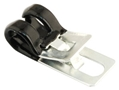 65-70 SPEEDOMETER CABLE RETAINER CLIP AT TRANSMISSION CROSSMEMBER BRACE