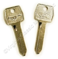 67-73 PONY IGNITION/DOOR KEY BLANK