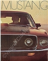 69 MUSTANG COLOR SALES BROCHURE