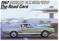 67 SHELBY COLOR SALES BROCHURE