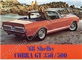68 SHELBY COLOR SALES BROCHURE