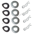 3 SPEED SHIFT LINKAGE WASHER/CLIP SET