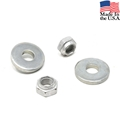 65-early 66 HiPo Motor Mount Lower Washer and Lock Nut Set