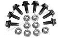 65-66 STOCK COWL BRACE BOLTS AND NUTS-SET