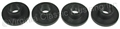 65-73 CONVERTIBLE TOP FRAME PIVOT BUSHINGS SET OF 4 (DOES ONE CAR)FITS WHERE CONVERTIBLE FRAME PIVOTS AT REAR ON CAR