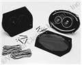 6 X 9 STEREO SPEAKER KIT-PAIR- WITH GRILLS