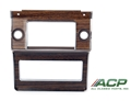 69-70 Radio and Heater Bezel - Woodgrain