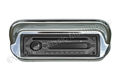 67-68 SONY IN-DASH CD/AM/FM STEREO IN CHROME BEZEL FOR NON-CONSOLE