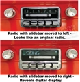 65-66 Mustang AM / FM  / iPod Doc / USB Radio