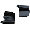 65-70 Rear Torque Box Top Plate - Pair - Convertible