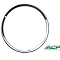67-68 Chrome Headlight Door Trim Ring