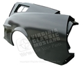 68 LH FASTBACK EXACT REPRODUCTION OF OEM QUARTER PANEL WITHOUT REAR REFLECTOR INDENTATION